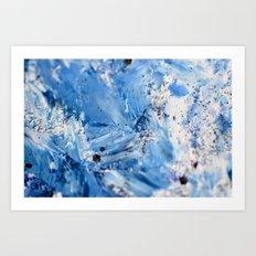 Ocean Strokes Art Print