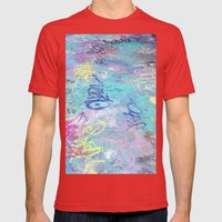 Sol Mens Fitted Tee Red SMALL