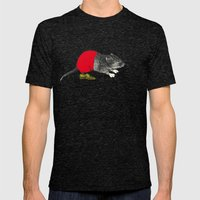 études - Mickey Mens Fitted Tee Tri-Black SMALL