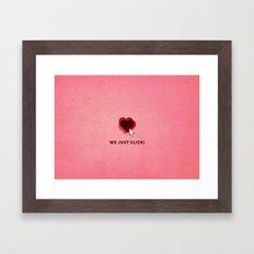 We just click Framed Art Print