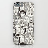 iPhone & iPod Case featuring Faces in the Tube by Marina Molares