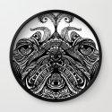 Henna of Pugly Wall Clock