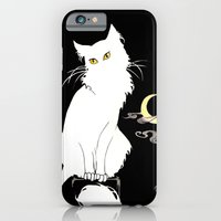 iPhone & iPod Case featuring Le Chat Blanc by Birdskull Studios