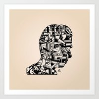 Self Portrait PM Art Print