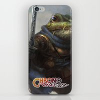 A knightly Frog  iPhone & iPod Skin