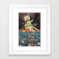 Children of the Sun and Moon Framed Art Print
