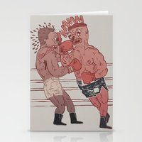 Fight Night Stationery Cards