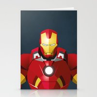 The Truth Is, I Am Iron Man   Stationery Cards