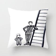 Circus Posture Throw Pillow