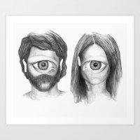 I Love You Even More Tha… Art Print