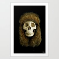 Northern Skull Art Print