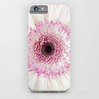 iPhone & iPod Case featuring Pink gerbera by El Diván Azul {Beatriz}