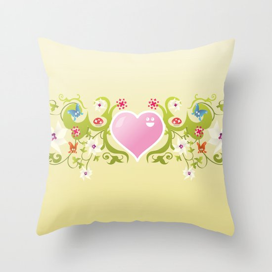 Feel my Nature Throw Pillow