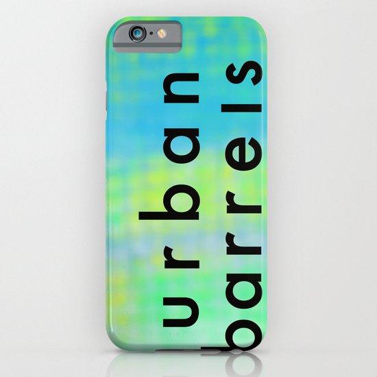 Urban Barrel Type iPhone & iPod Case