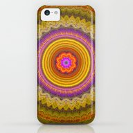 Grunge Flower In A Zigza… iPhone 5c Slim Case