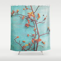 She Hung Her Dreams On B… Shower Curtain