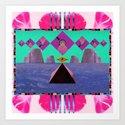 Simetria Celestial II  Art Print