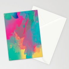 The colors mix Stationery Cards