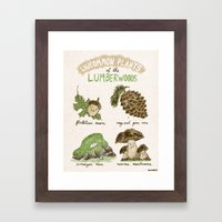 Uncommon Plants Of The L… Framed Art Print