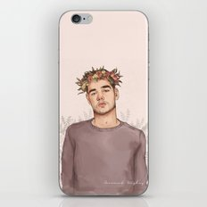 Flower crown Liam iPhone & iPod Skin