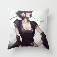 Pepper Vogue Throw Pillow