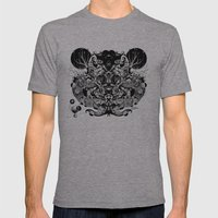 Scorn Pourer Mens Fitted Tee Athletic Grey SMALL