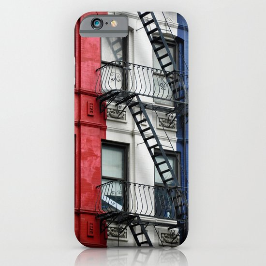 NYC Red White Blue iPhone & iPod Case