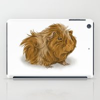 Grumpy Old Guinea Pig  iPad Case
