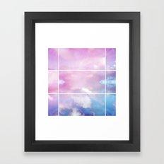 Pastel Sky II Framed Art Print