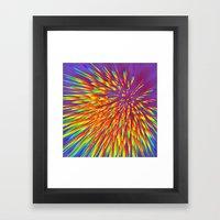 Reaction Framed Art Print