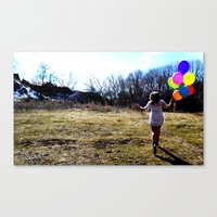 Fly Away With Me. Canvas Print