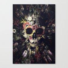 Garden Skull Canvas Print