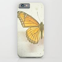 iPhone & iPod Case featuring Golden Butterfly by Cassia Beck