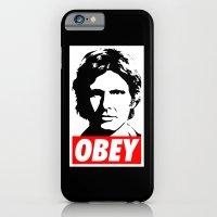 Obey Han Solo - Star Wars iPhone 6 Slim Case
