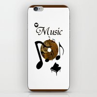 His Master's Voice iPhone & iPod Skin