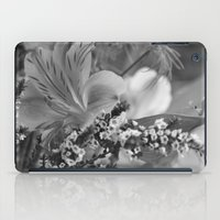 Freesia 2 B&W iPad Case