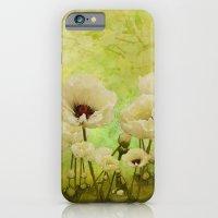White Poppies iPhone 6 Slim Case