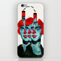 The Cats In My Head iPhone & iPod Skin