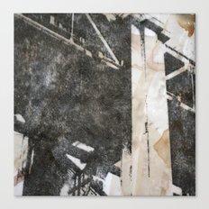 Under the Bay Bridge  Canvas Print