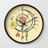 Ornament Variation Three Wall Clock