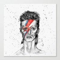 Vampire Bowie Canvas Print