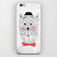 CAT IN A BOWTIE iPhone & iPod Skin