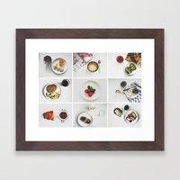 Morning stories - LIGHT set Framed Art Print