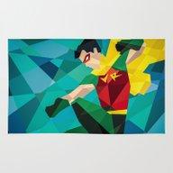 DC Comics Robin Rug