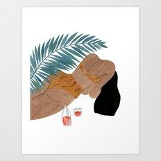 Swimware Art Print