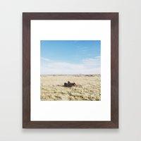 ROFL Bison Framed Art Print