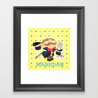 Magician Framed Art Print