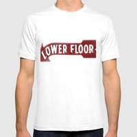 Which Way Is Up?... Mens Fitted Tee White SMALL
