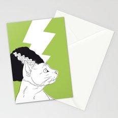 The Bride of Frankencat Stationery Cards