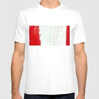 Proud Rock Mens Fitted Tee White SMALL